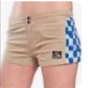 Jrs QuickSilver 100% cotton shorts